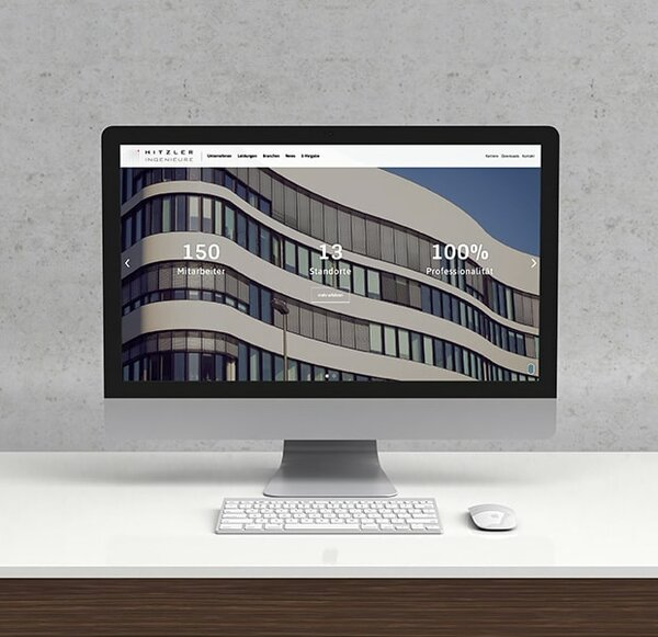 Website Relaunch für HITZLER INGENIEURE