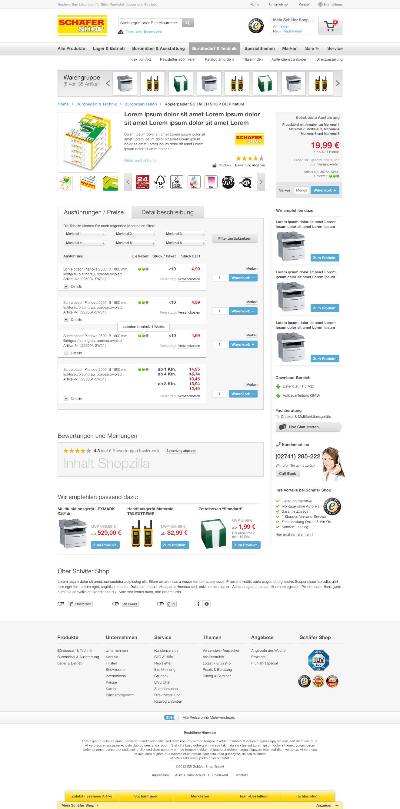 User Centered Design im E-Commerce - FIGGE+SCHUSTER AG